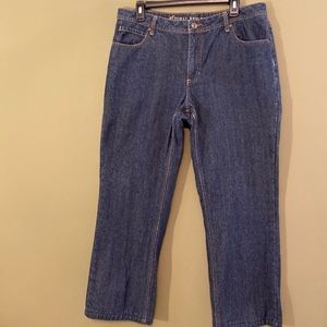 Natural Reflections flannel lined denim jeans 12